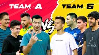 TEAM A vs TEAM S | ORQANI SAQLA CHALLENGE | БЕРЕГИ ПЯТУЮ ТОЧКУ ЧЕЛЛЕНДЖ