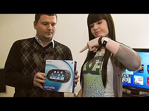PS Vita - Unboxing-Video zum neuen Playstation-Handheld