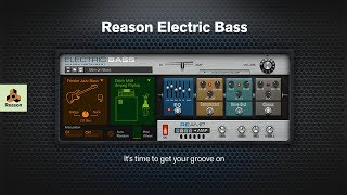 Introducing Reason Electric Bass for Reason Rack Extensions