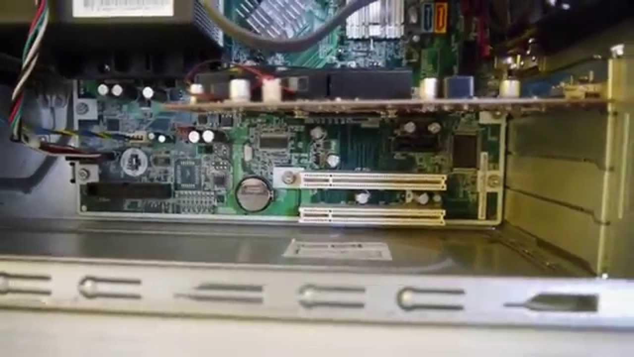 Hp Compaq Dc5750 Inside Full Hd Youtube