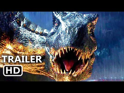JURASSIC WORLD 2 Official Trailer # 3 TEASER (NEW 2018) Chris Pratt Movie HD