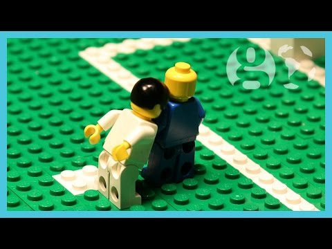 World Cup 2014 Highlights | Suarez bite, David Luiz free kick, Neymar injury | Brick-by-brick