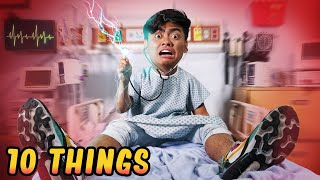 10 Things Not To Do at the Hospital..