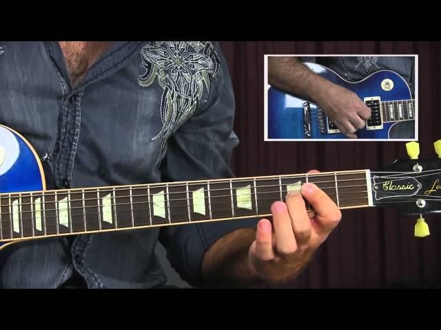Joe Bonamassa Style Shuffle Blues Guitar Lesson