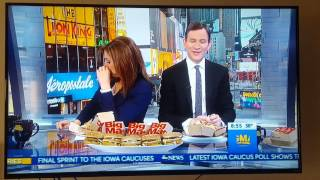 """Sara Haines """"Special Sauce"""" Good Morning America"""
