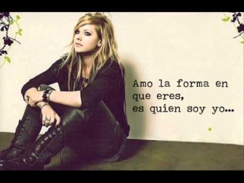 Avril Lavigne  - Wish You Were Here (subtitulado Al Español) Spanish Version video
