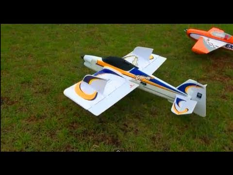 RC ADVENTURES - PARKZONE TYPHOON 2 - 3D FLYER - TRICK / STUNT PLANE!
