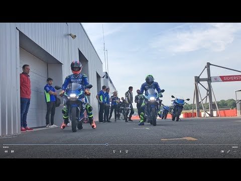 IANNONE & RINS RIDE THE NEW GSX-R125