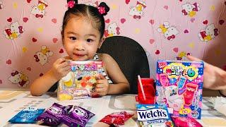 Bé Si A hướng dẫn chơi Popin Cookin Soda bồn cầu | Đồ chơi trẻ em - Nata tv