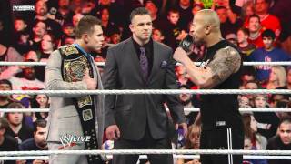 Raw: A showdown between The Rock, John Cena and The Miz