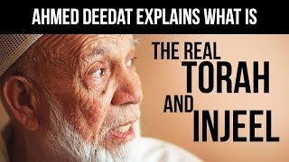 Video: Torah, Psalm and Gospel (Injeel) were revelation from God given in spoken word form (Wahi) to Moses, David and Jesus - Ahmed Deedat