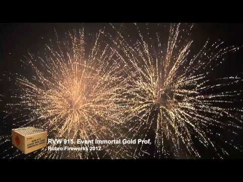 Event Immortal Gold Prof    Rubro Fireworks 2012