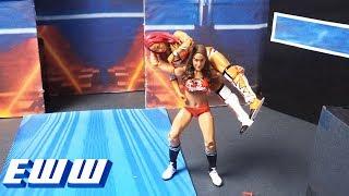 Nikki Bella attacks Sasha Banks: WWE EWW, June 17, 2017