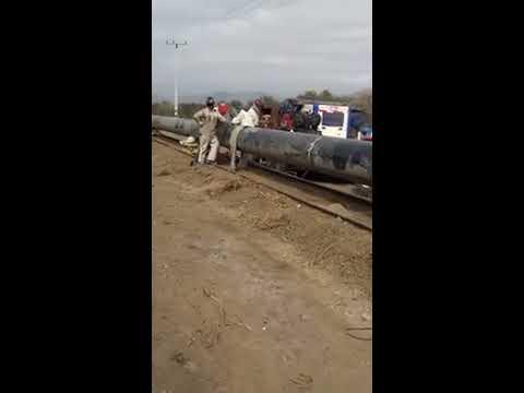 Un dia de Trabajo Normal en el Proyecto Acuaducto Minera Candelaria