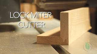Lock Miter Cutter -  Setup & Demonstration