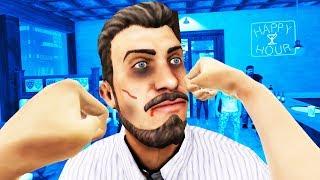 VR Bar Brawl! - Drunkn Bar Fight Gameplay - HTC Vive Pro VR