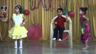 Dada Mala Ek Vahini Aan marathi song performance on Annual Day 2009