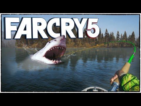 ЭТОГО НЕ МОЖЕТ БЫТЬ! Поймал громадину и побил рекорд Санька! (Far Cry 5 кооператив #7)
