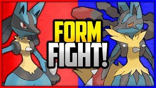 Lucario vs Mega Lucario | Pokémon Form Fight