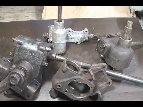 Рулевой редуктор ремонт своими руками