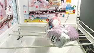 Got [Panda Hello Kitty - Lace Ribbon Big Plushy A]!!