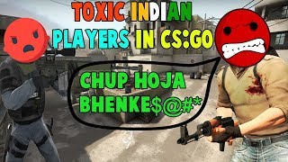 When I Meet Toxic Indian Players In CS:GO Deathmatch