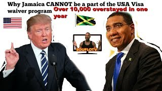 Jamaicans overstaying in the thousands Trump wants it fixed now