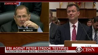 Peter Strozk testimony at House committee hearing resumes as FBI agent faces more questions