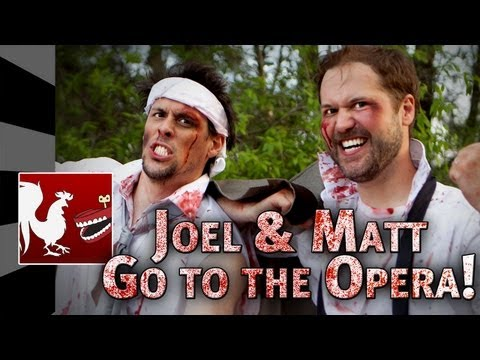 RT Shorts: Joel & Matt go to the Opera!
