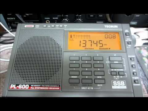 13745kHz Radio Thailand (English)