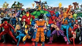 Goku vs Marvel