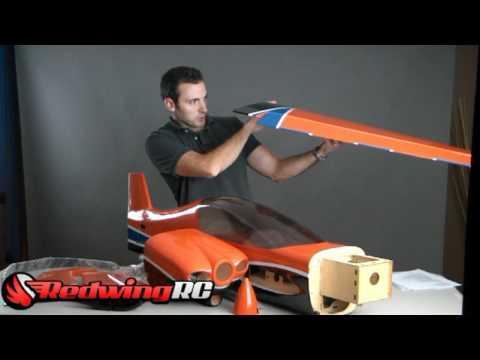 Meet The Redwing rc 50cc Sbach