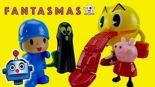 Hay Fantasmas en casa de Peppa Pig y Pocoyo pasa mucho miedo