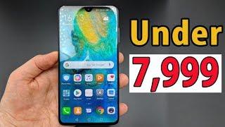 Top 3 Best Smartphones Under 8000 in India 2019 ll Best Budget Smartphones 2019