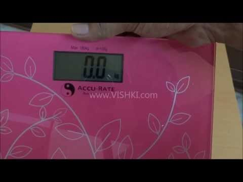 Accu-Rate Digital Bathroom Weighing Scale - Unboxing and quick review