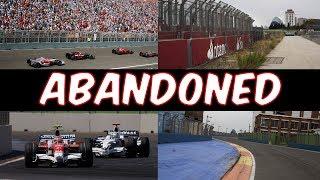 Formula One's Abandoned Race Tracks