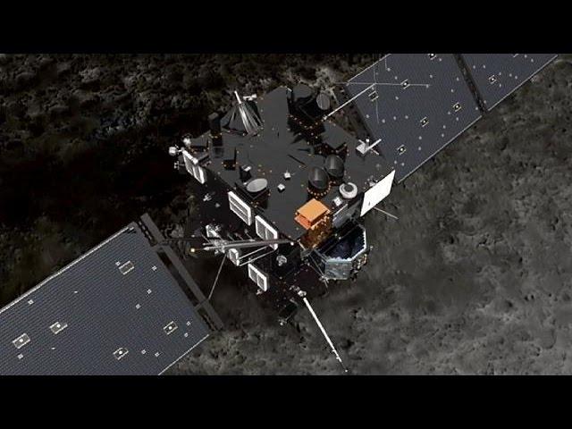 Comet Hunters: Rosetta's race to map 67P