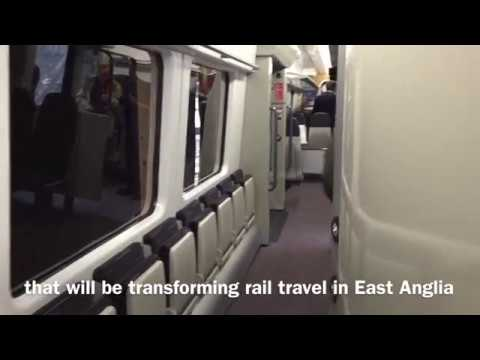 Interiors Of Greater Anglia Trains On Show