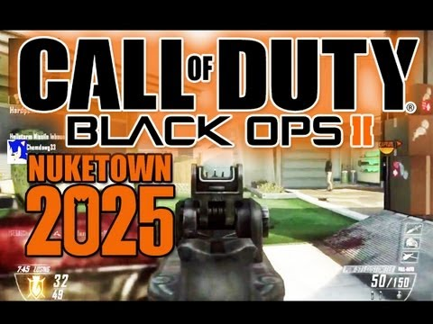 Black Ops 2 - Nuke Town 2025 - Some Basic Tips, Tricks & Thoughts Commentary