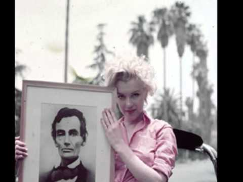 Marilyn Monroe With President Abraham Lincoln