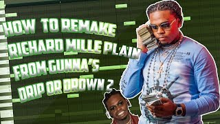HOW TO REMAKE RICHARD MILLE PLAIN FROM GUNNA'S DRIP OR DROWN 2