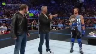 Dean Ambrose, Aj styles , John Cena WWE Triple Threat match at No Mercy   WWE Smackdown Live