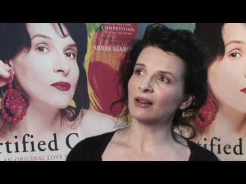 Juliette Binoche Talks Certified Copy - full interview