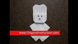 How To Make An Origami Cute Rabbit