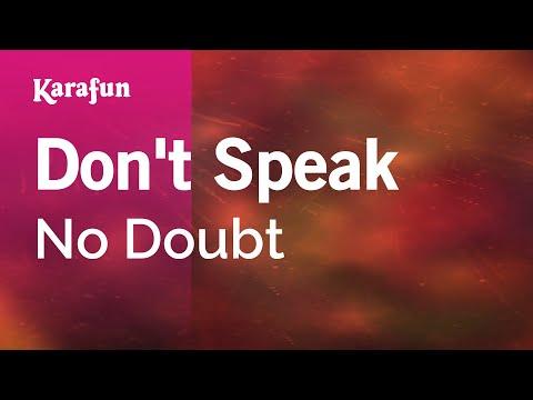 Karaoke Don't Speak - No Doubt *