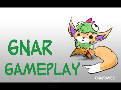 GNAR NEW CHAMPION Diamond I player league of legends top lane gameplay