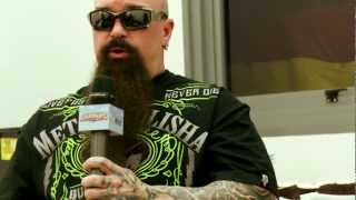 SLAYER KERRY KING interview In Sydney (Part #1)