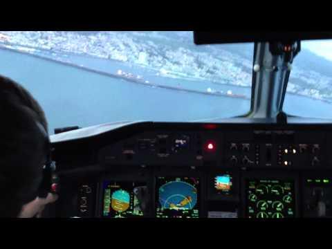 SATA Q400 Ponta Delgada Approach