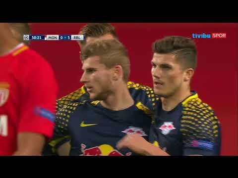 Monaco 1-4 Leipzig | UEFA Şampiyonlar Ligi Maç Özeti