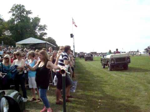 Land Rover Burghley Horse Trials 2011 Past Winners Parade